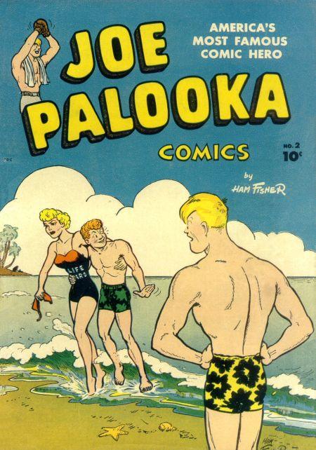 Joe Palooka (1945) #2, cover by Joe Simon.