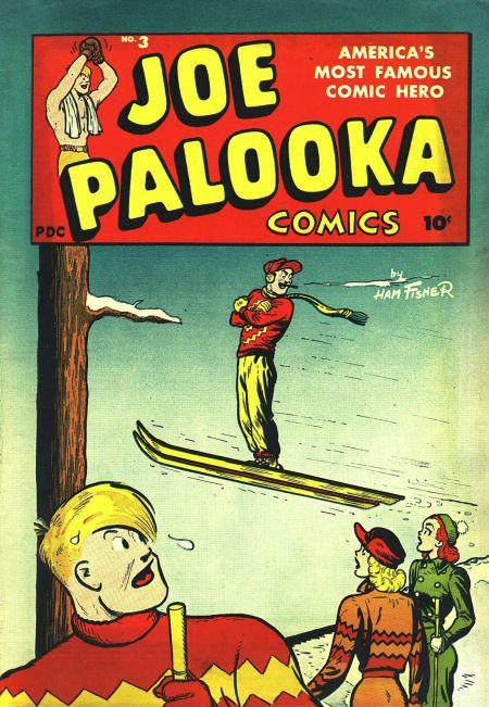Joe Palooka (1945) #3, cover by Joe Simon.