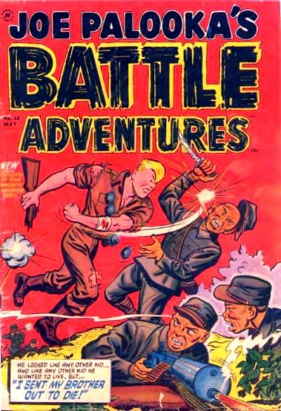 Joe Palooka (1945) #68, cover by Joe Simon.