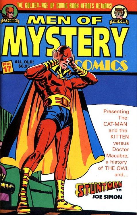Men of Mystery Comics (1999) #17, cover by Joe Simon.