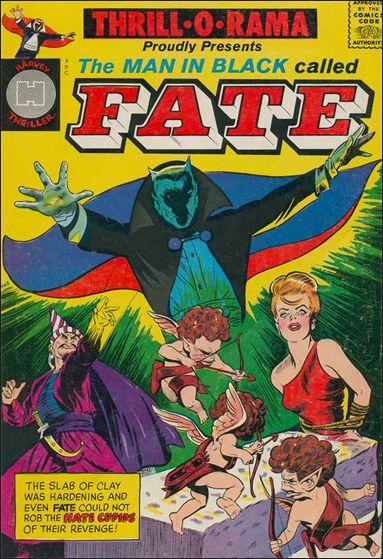 Thrill-o-Rama (1965) #1, cover by Joe Simon.