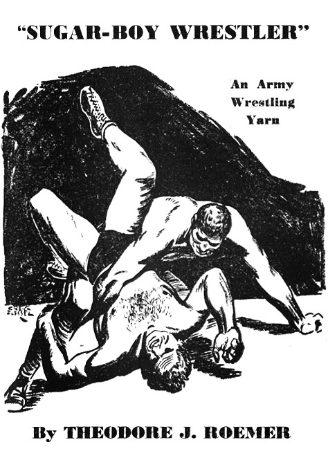 The pulps: an illustration from the  Fall 1942  issue of  Sports Fiction . Art by Creig Flessel.