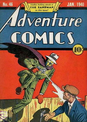 Adventure Comics (1938) #46, cover by Creig Flessel.