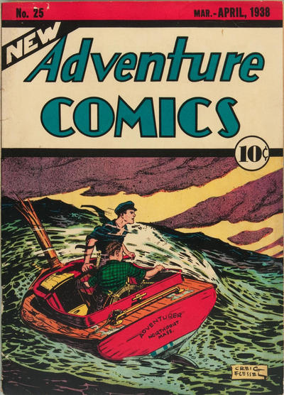 New Adventure Comics (1937) #25, cover by Creig Flessel.