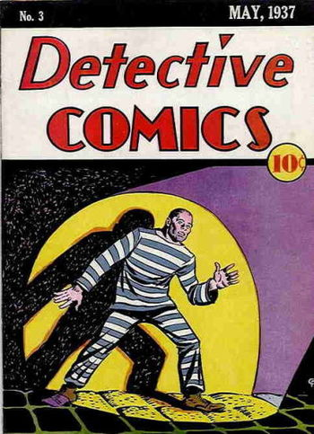Detective Comics (1937) #3, cover by Creig Flessel.
