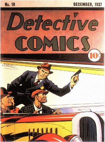 Detective Comics (1937) #10, cover by Creig Flessel.