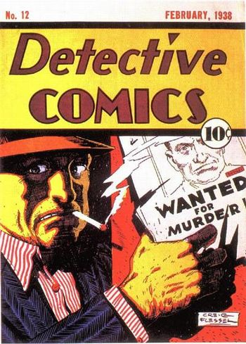 Detective Comics (1937) #12, cover by Creig Flessel.