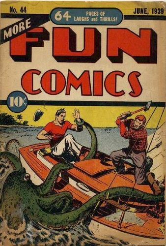 More Fun Comics (1936) #4, cover by Creig Flessel.