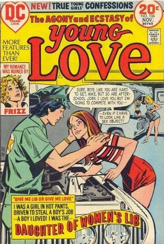 Young Love (1949) #106, cover by Creig Flessel.