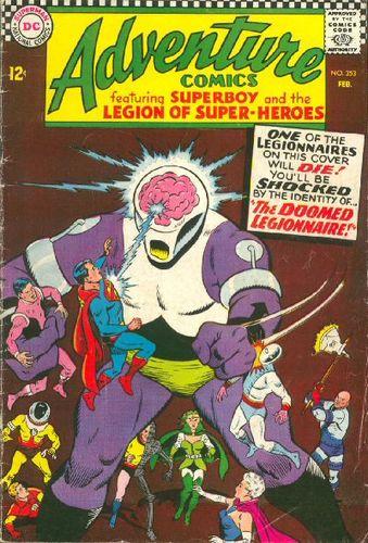 Adventure Comics (1938) #353, written by Jim Shooter.