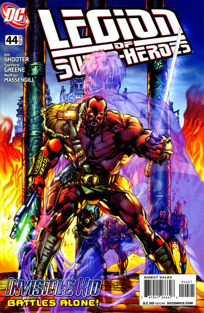 Legion of Super-Heroes (2005) #44 Neal Adams Variant. Written by Jim Shooter.