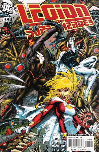Legion of Super-Heroes (2005) #38, written by Jim Shooter.