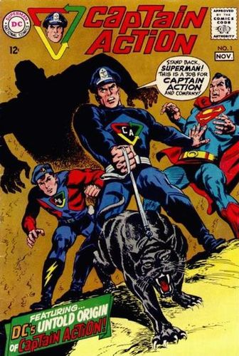 Captain Action (1968) #1, written by Jim Shooter.
