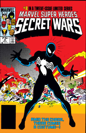 Marvel Super Heroes Secret Wars (1984) #8, written by Jim Shooter.