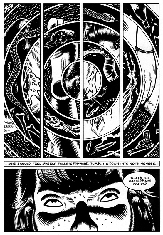 Page 5 of   Black Hole  , by  Charles Burns .