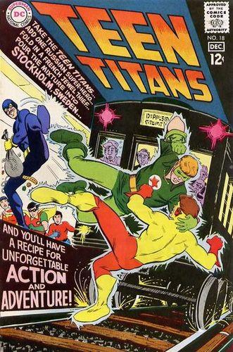 Teen Titans (1966) #18, co-written by Len Wein & Marv Wolfman.