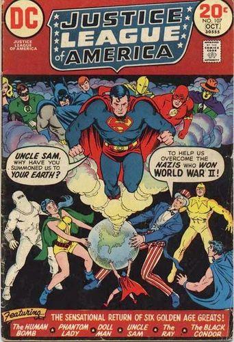 Justice League of America (1960) #107, written by Len Wein.