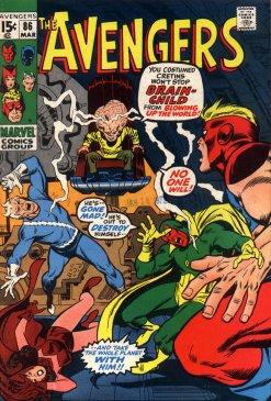 Avengers (1963) #86, co-written by Len Wein.
