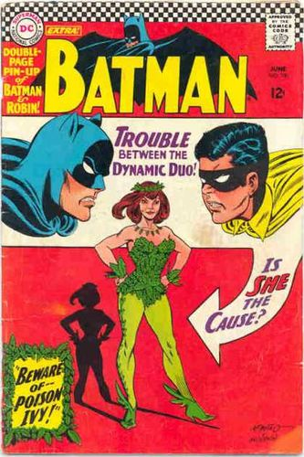Batman (1940) #181, cover penciled by Carmine Infantino & inked by Murphy Anderson.