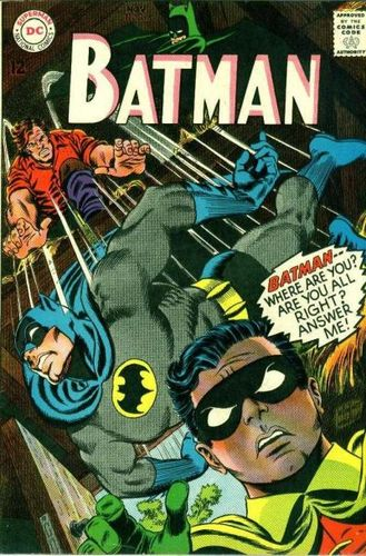 Batman (1940) #196, cover penciled by Carmine Infantino & inked by Murphy Anderson.