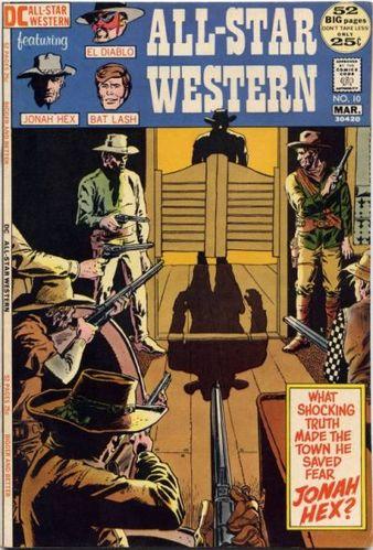 All-Star Western (1970) #10, cover by Tony DeZuniga.