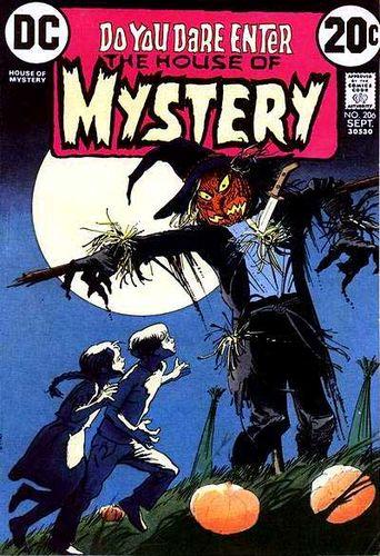 House of Mystery (1951) #206, cover by Tony DeZuniga.