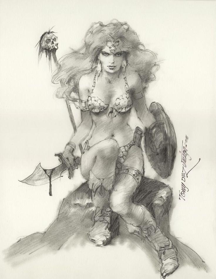 Red Sonja by Tony DeZuniga.