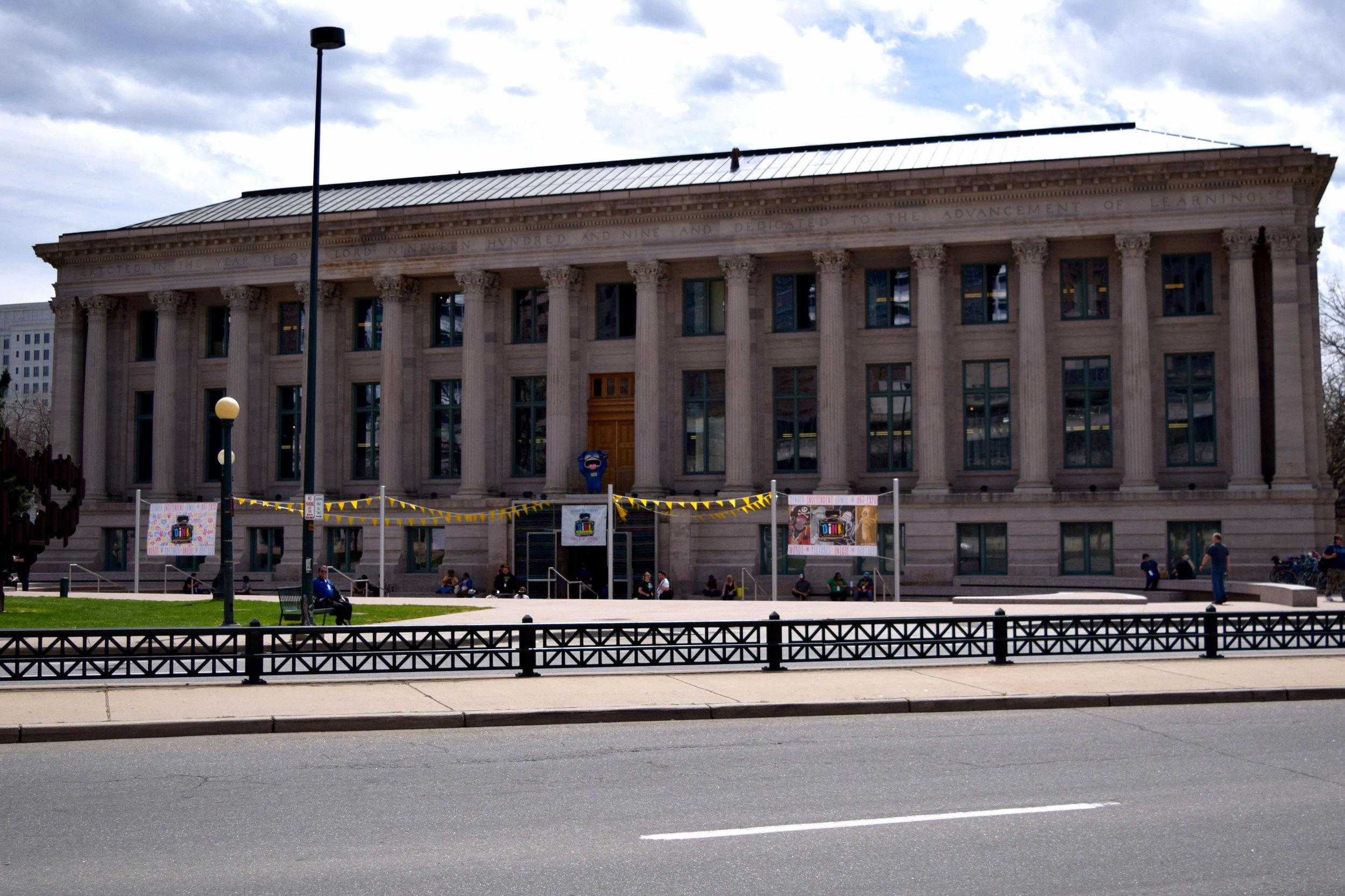 The McNichols Civic Center.