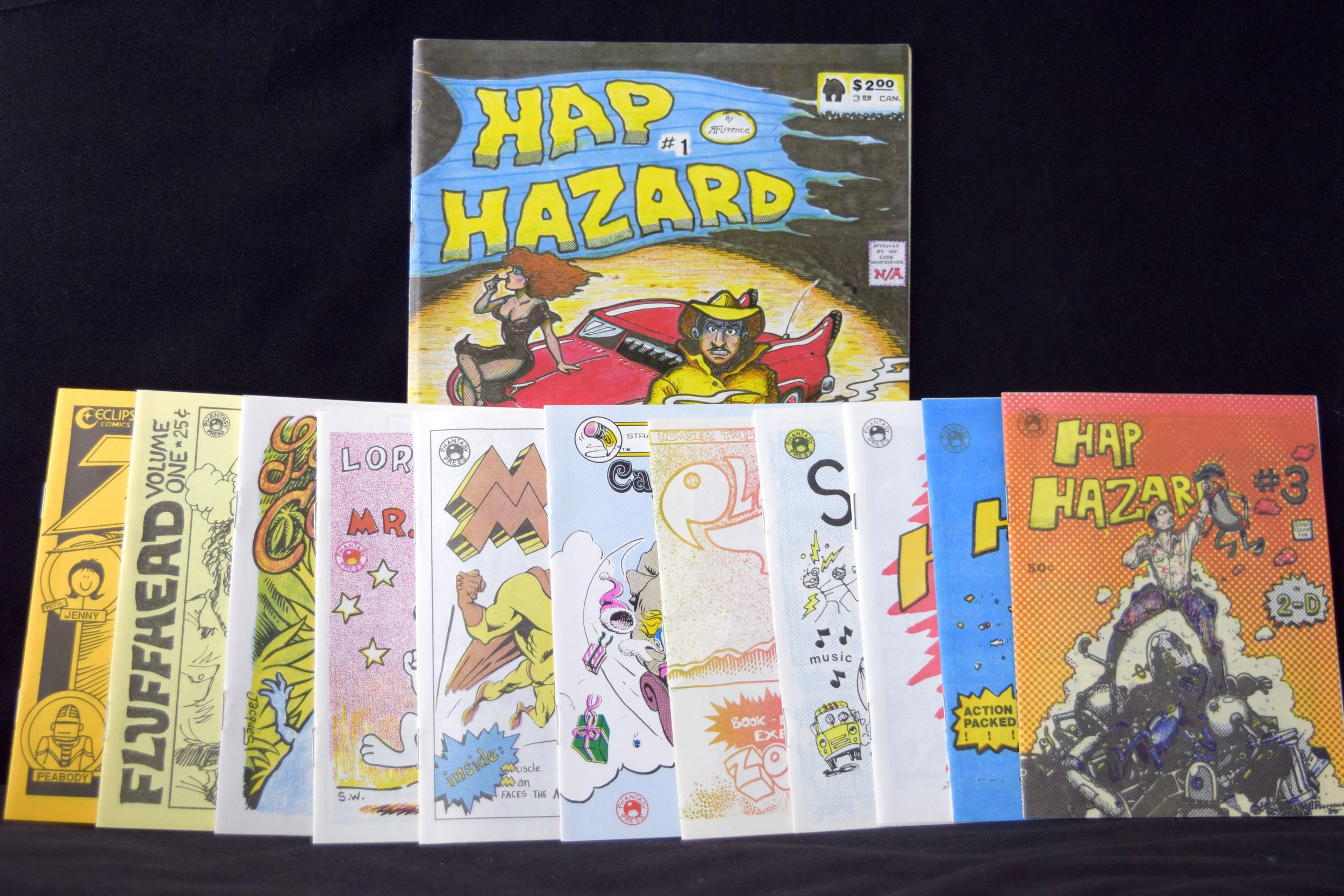 Independent and Mini comics from Bob Conway.