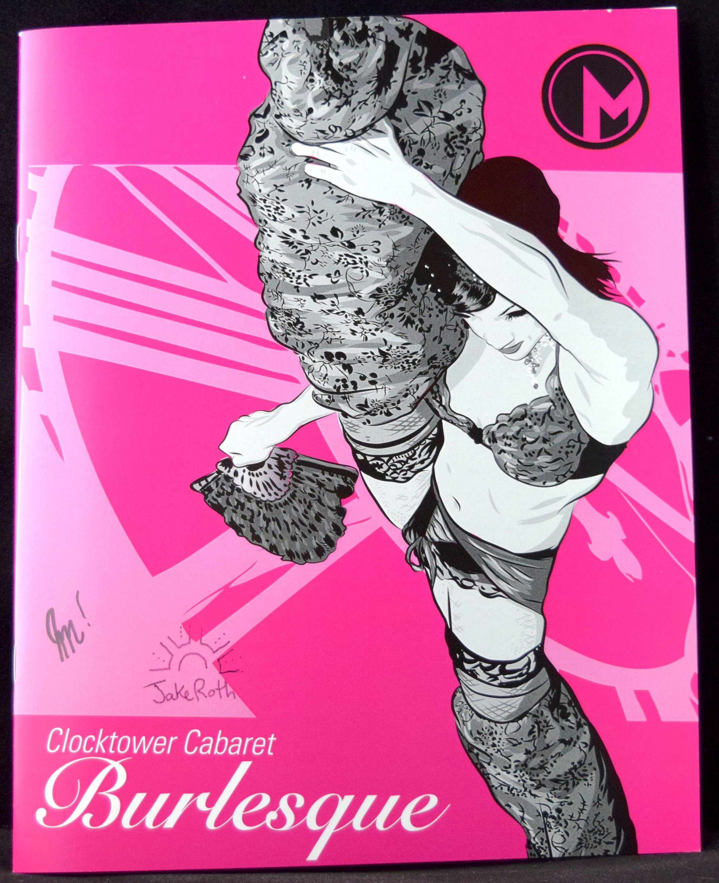 The   Clocktower Cabaret Burlesque   project, with a cover by  Gerhard Kaaihue .