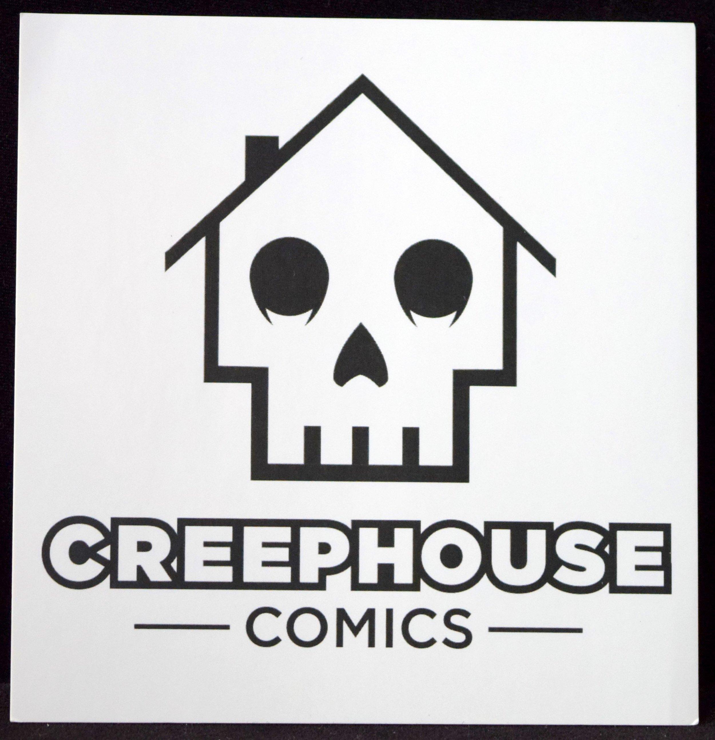 CreepHouse Comics Stickers!