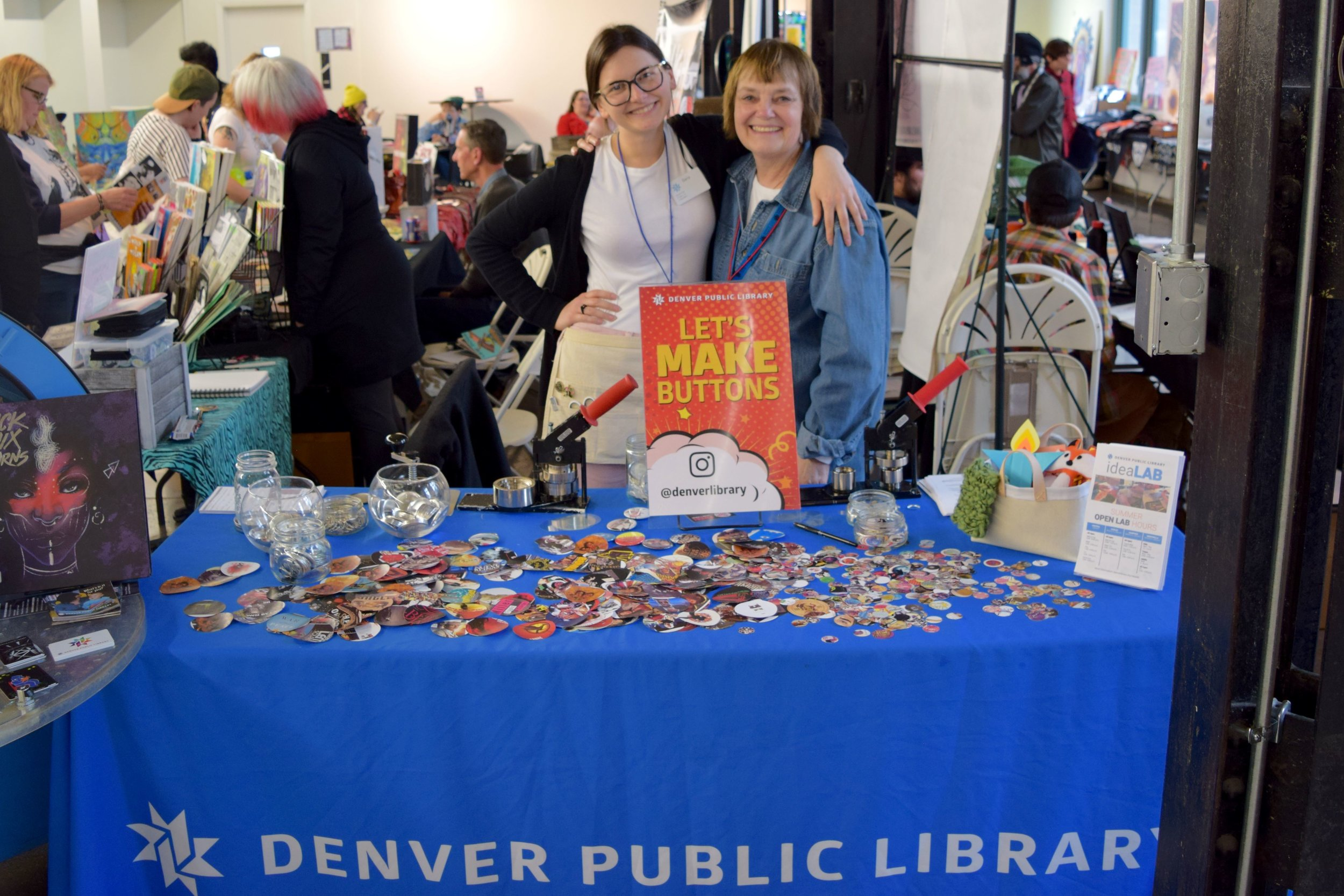 The Denver Public Library at DINK 2018.