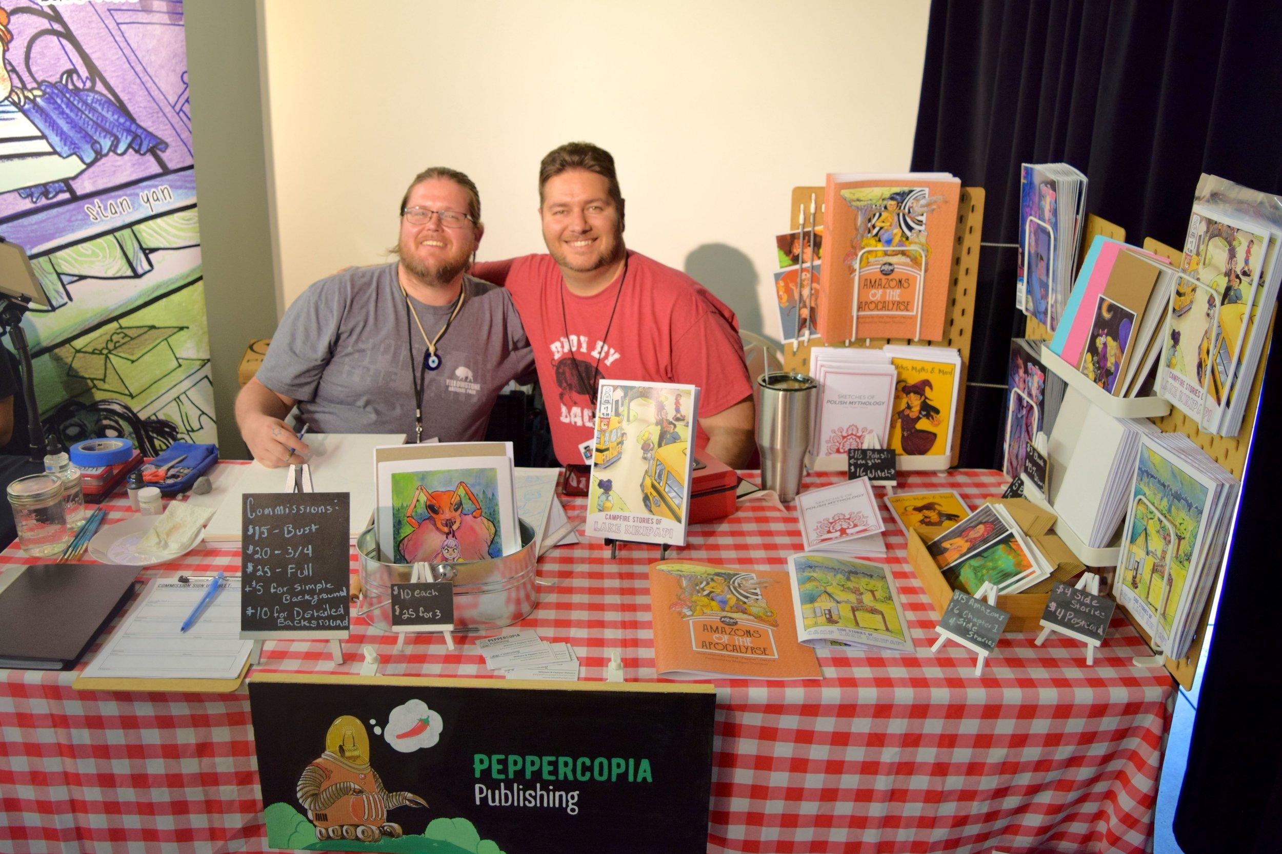 Pepper & Bill DeLuca at DINK 2018.