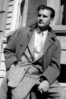 Alex Toth in the '50s.
