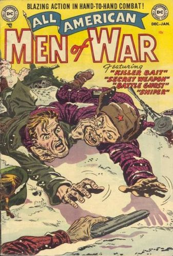 All-American Men of War (1952) #2, cover by Jerry Grandenetti.