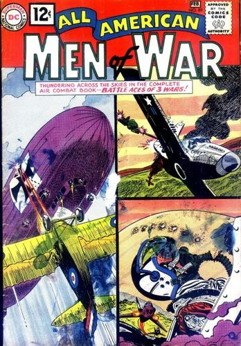All-American Men of War (1952) #89, cover by Jerry Grandenetti.