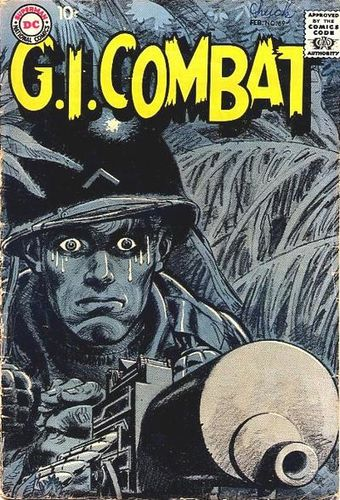 G.I. Combat (1952) #69, cover by Jerry Grandenetti.