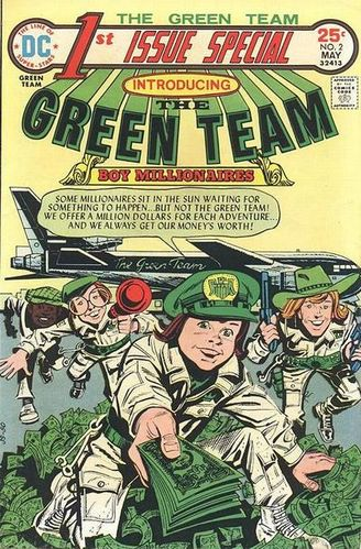1st Issue Special (1975) #2, cover by Jerry Grandenetti.