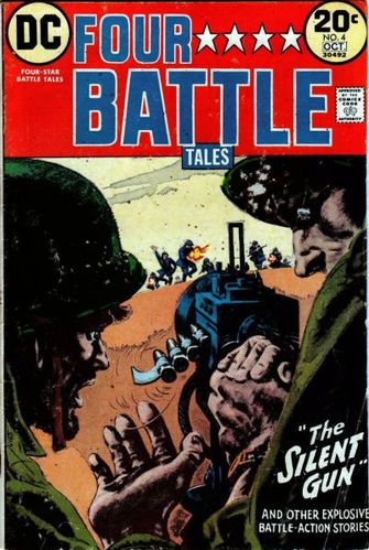 Four-Star Battle Tales (1973) #4, cover by Jerry Grandenetti.