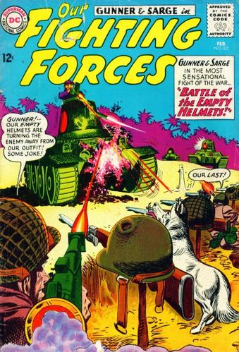 Our Fighting Forces (1954) #82, cover by Jerry Grandenetti.