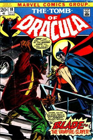 Tomb of Dracula (1972) #10, written by Marv Wolfman.