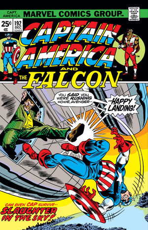 Captain America (1968) #192, written by Marv Wolfman.