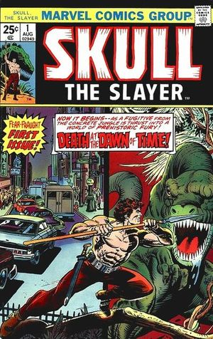 Skull, the Slayer (1975) #1, written by Marv Wolfman.