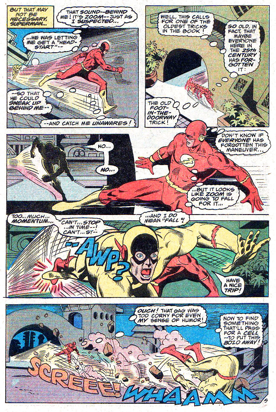 DC Comics Presents (1978) #2 pg.08, lettered by Clem Robins.