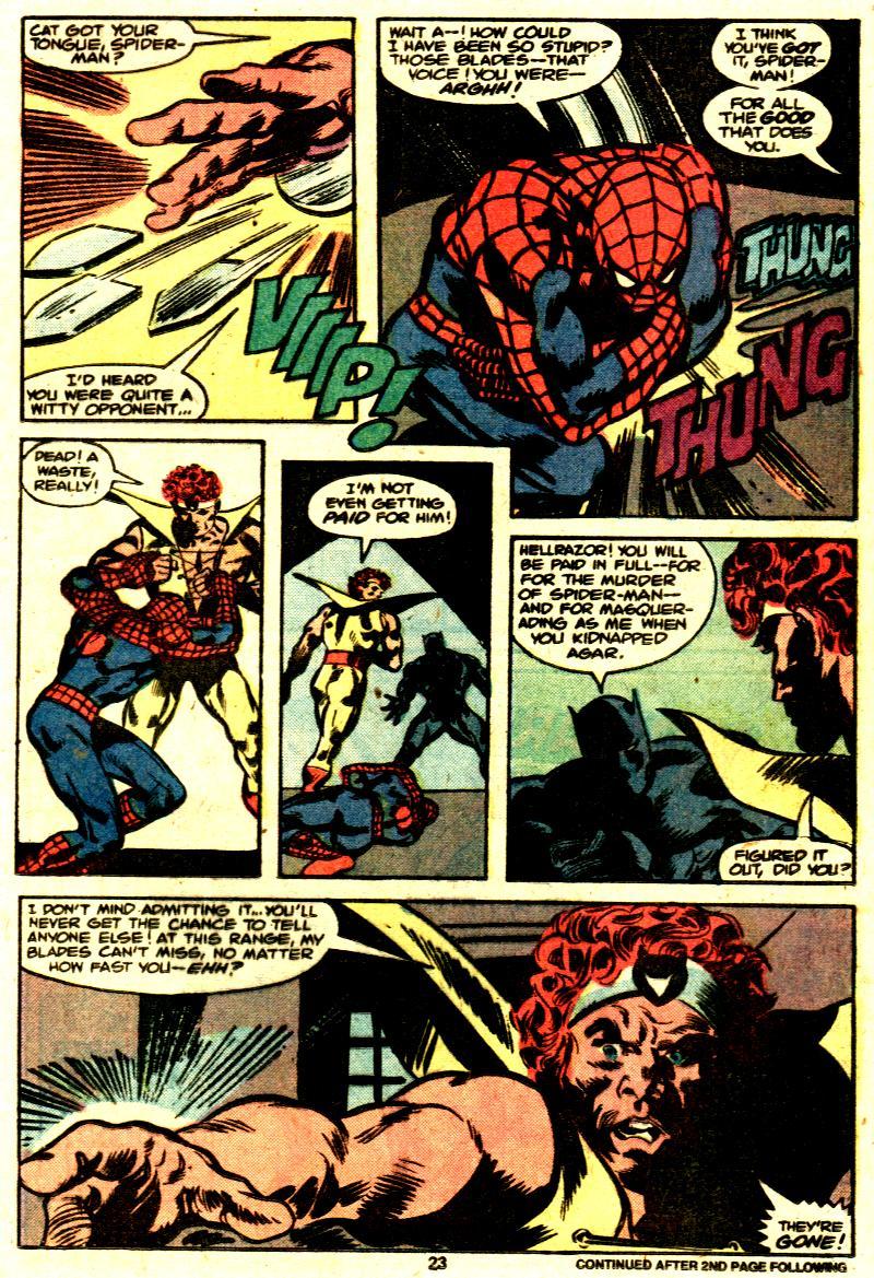 Marvel Team-Up (1972) #87 pg.15, lettered by Clem Robins.