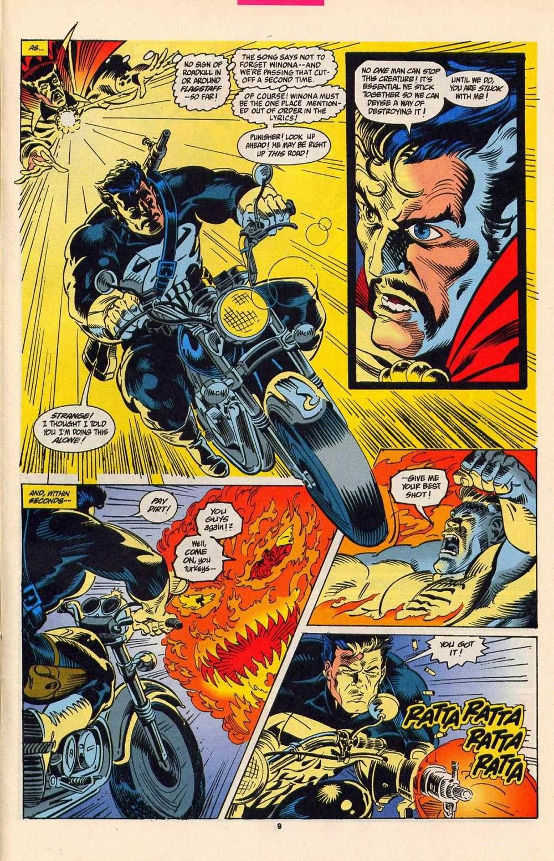 Secret Defenders (1993) #5 pg.08, lettered by Clem Robins.
