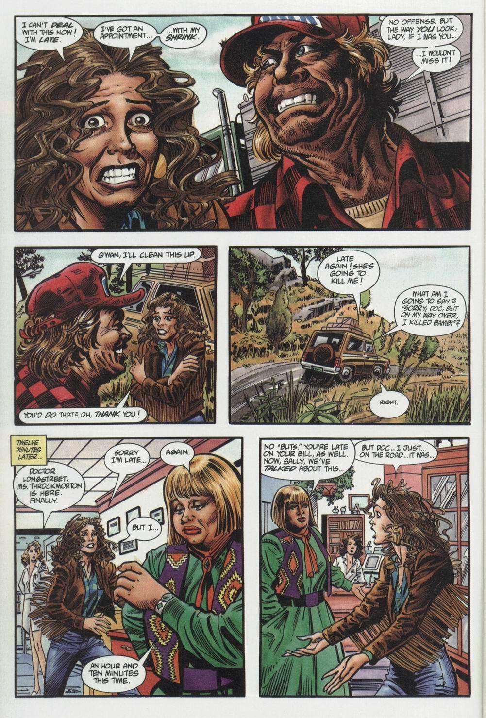 War Dancer (1994) #1 pg.03, lettered by Clem Robins.