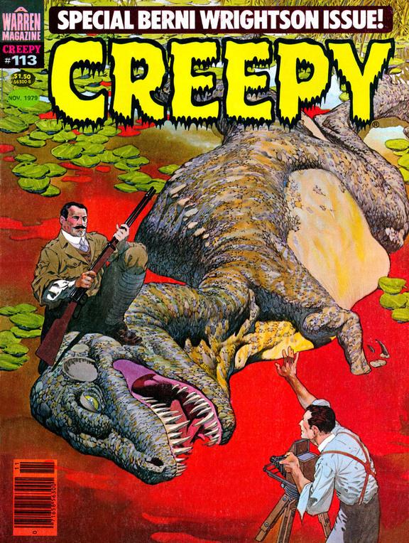 Creepy (1964) #113, cover by Berni Wrightson.