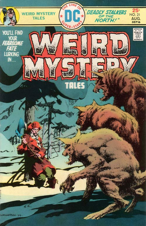 Weird Mystery Tales (1972) #21, cover by Berni Wrightson.