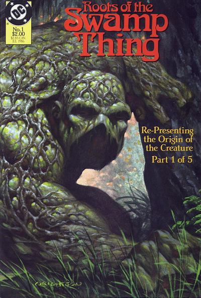 Roots of the Swamp Thing (1986) #1, cover by Berni Wrightson.